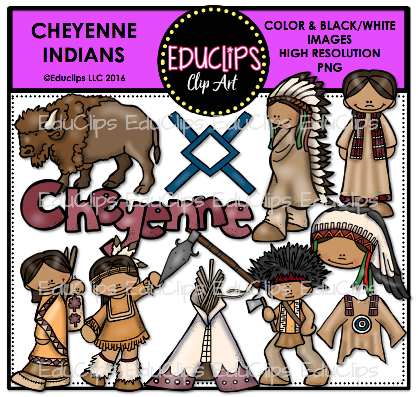 Indians clipart color Art Wishlist Cheyenne Indians and