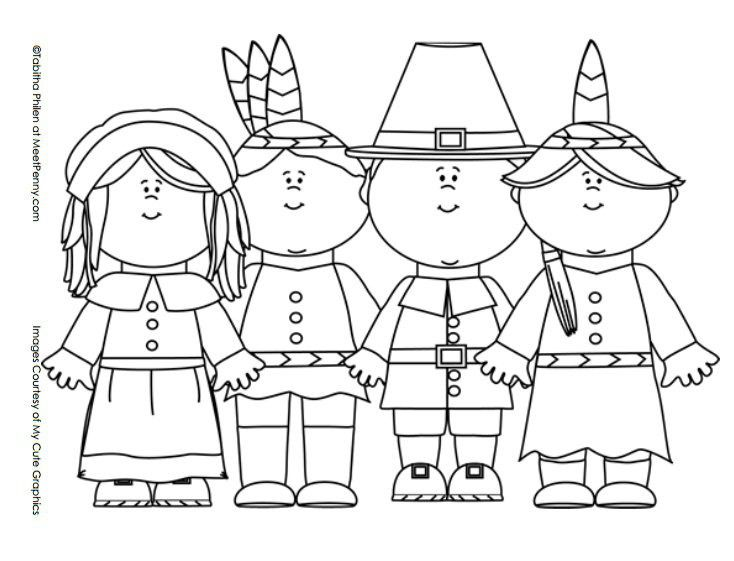 Indians clipart color 20+ and Coloring Page pages