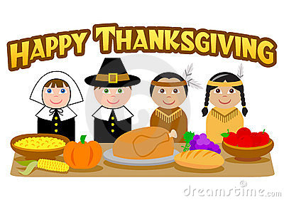 Indians clipart first thanksgiving dinner The Pilgrims from was England