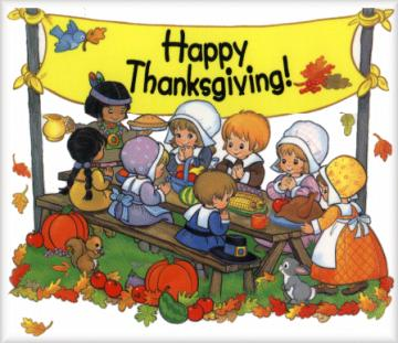 "Indians clipart first thanksgiving dinner ""The Indian First Myth #1:"