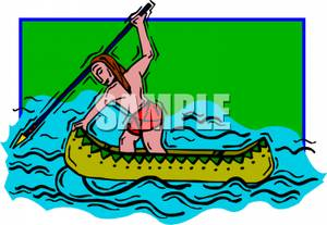 Indians clipart fishing A Indian a Royalty Indian