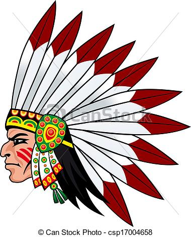 Indians clipart indigenous person  head Native the people