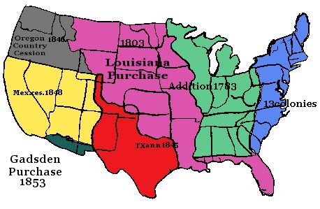 Us History clipart westward expansion On Destiny the Manifest States