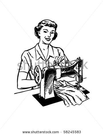 Women clipart tailor #2