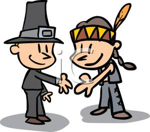Native American clipart pilgrims Hands A an an and