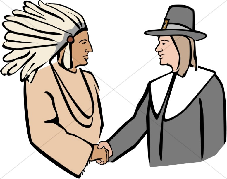 Native American clipart squanto Native Art Clipart Art Pilgrims