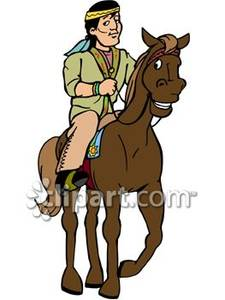 Horse Riding clipart indians Indian Horse Free Picture Royalty