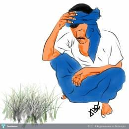 Indians clipart sad For India Jegadeeswaran Art Touchtalent