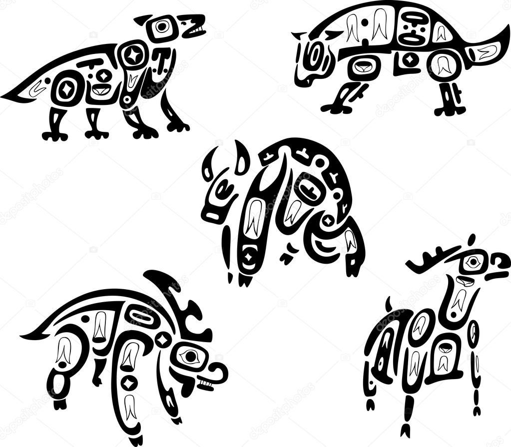 Indians clipart shoshone  indian Vector Vector indian