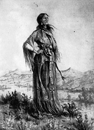 Indians clipart shoshone Of of tribe Sacajawea the