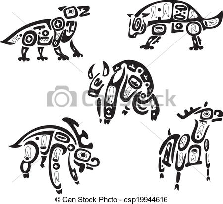 Indians clipart shoshone Indian Clip Native Vector Art
