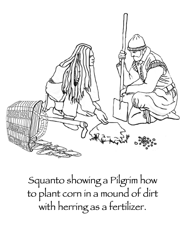 Native American clipart squanto Much suffering Even of the