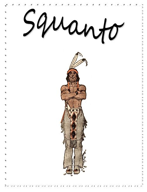 Native American clipart squanto Free Native Unit #lapbooks images