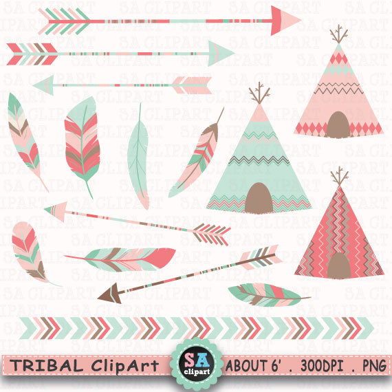 Indians clipart tent Feathers