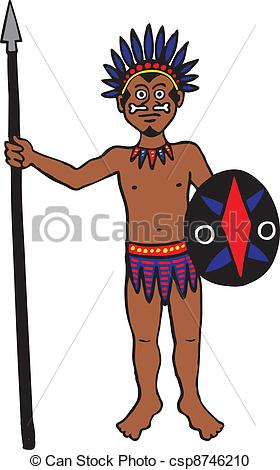 Spear clipart tribal Tribe%20clipart Clip Free Clipart Art