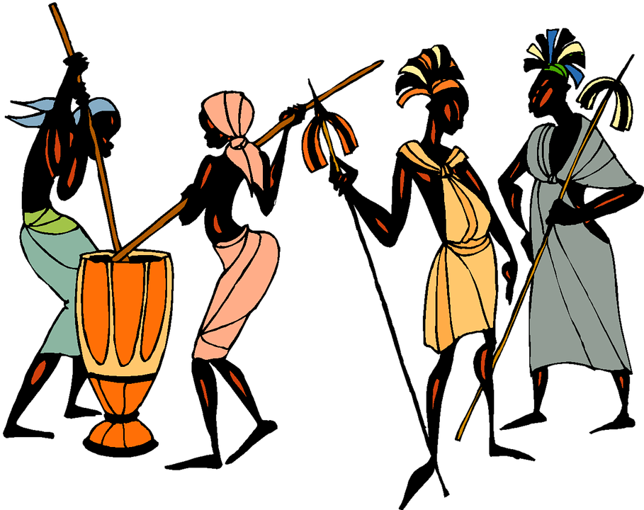 Africa clipart african tribe Ethic African Ethic Collage Max