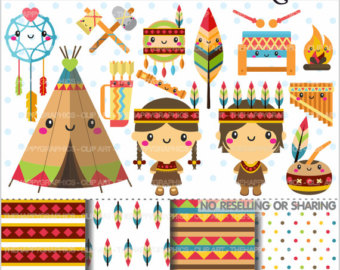Indians clipart tribe Graphics CLIP Clipart 80%OFF Graphics