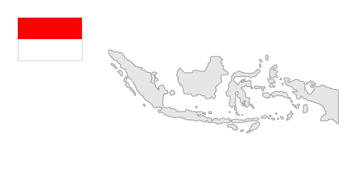 Indonesia clipart Of Of Indonesia Map Clipart