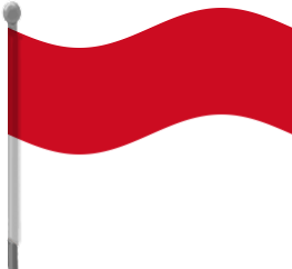 Indonesia clipart Waving Download Indonesia Art Flag