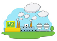Industrial clipart city pollution Clip Art Kb Pictures 67