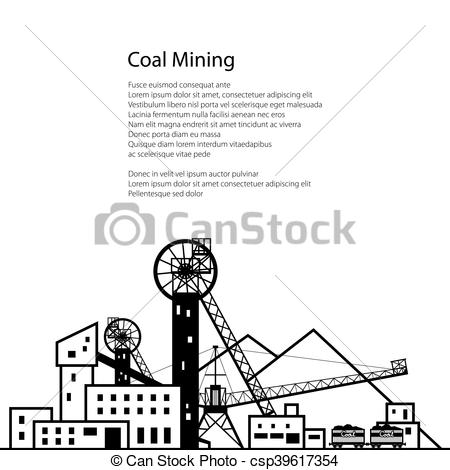 Caol clipart industry  Industry of Coal Mining