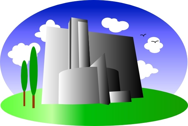 Caol clipart industrial building Clip download art Industrial free
