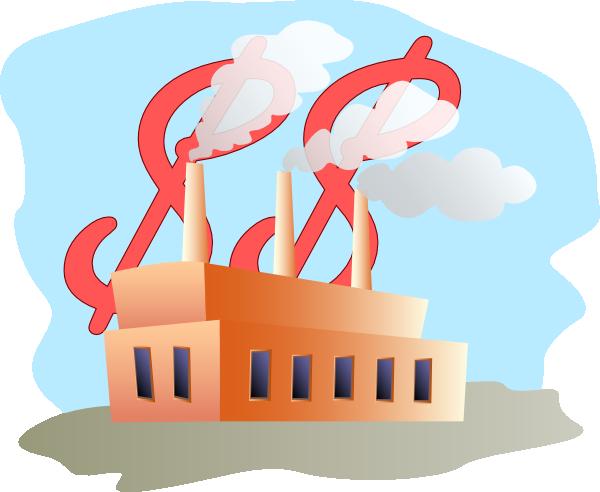 Smog clipart manufacture Clker Cash Commercial com image