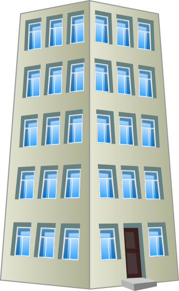 Business clipart commercial building 4Vector Industrial  Free Clip