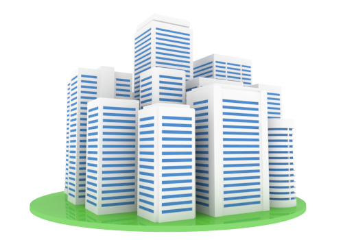 Architecture clipart company building Building Cliparts Industrial Materials Building