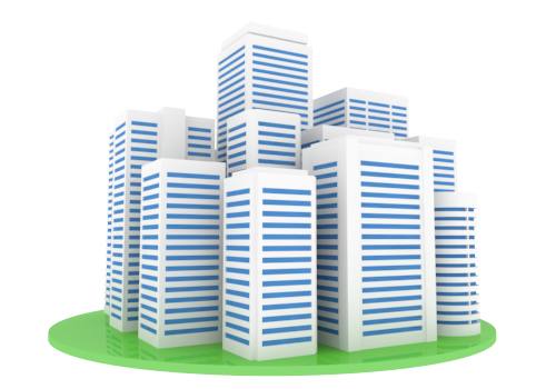 City clipart business building Company Building Manufacturing Free Clipart