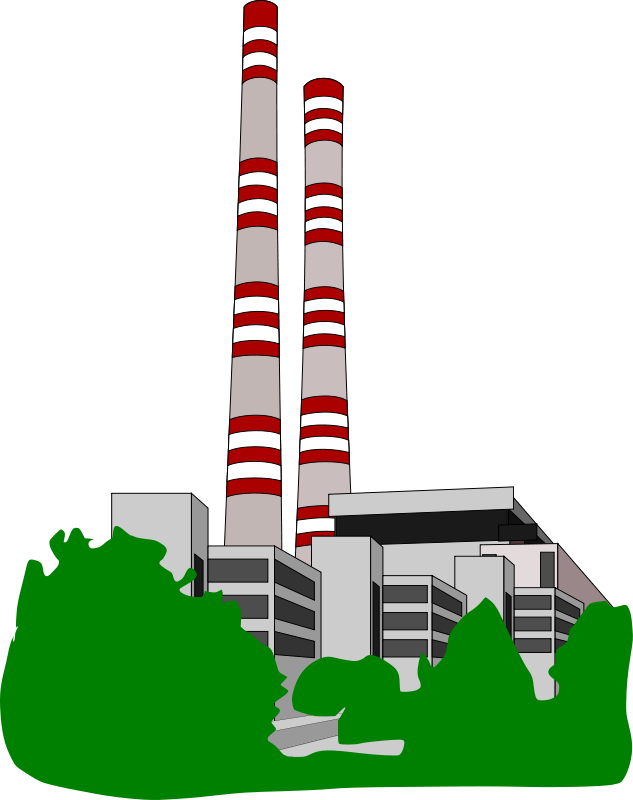 Industrial clipart electrical power plant Clipart Electrical Electrical Power Plants
