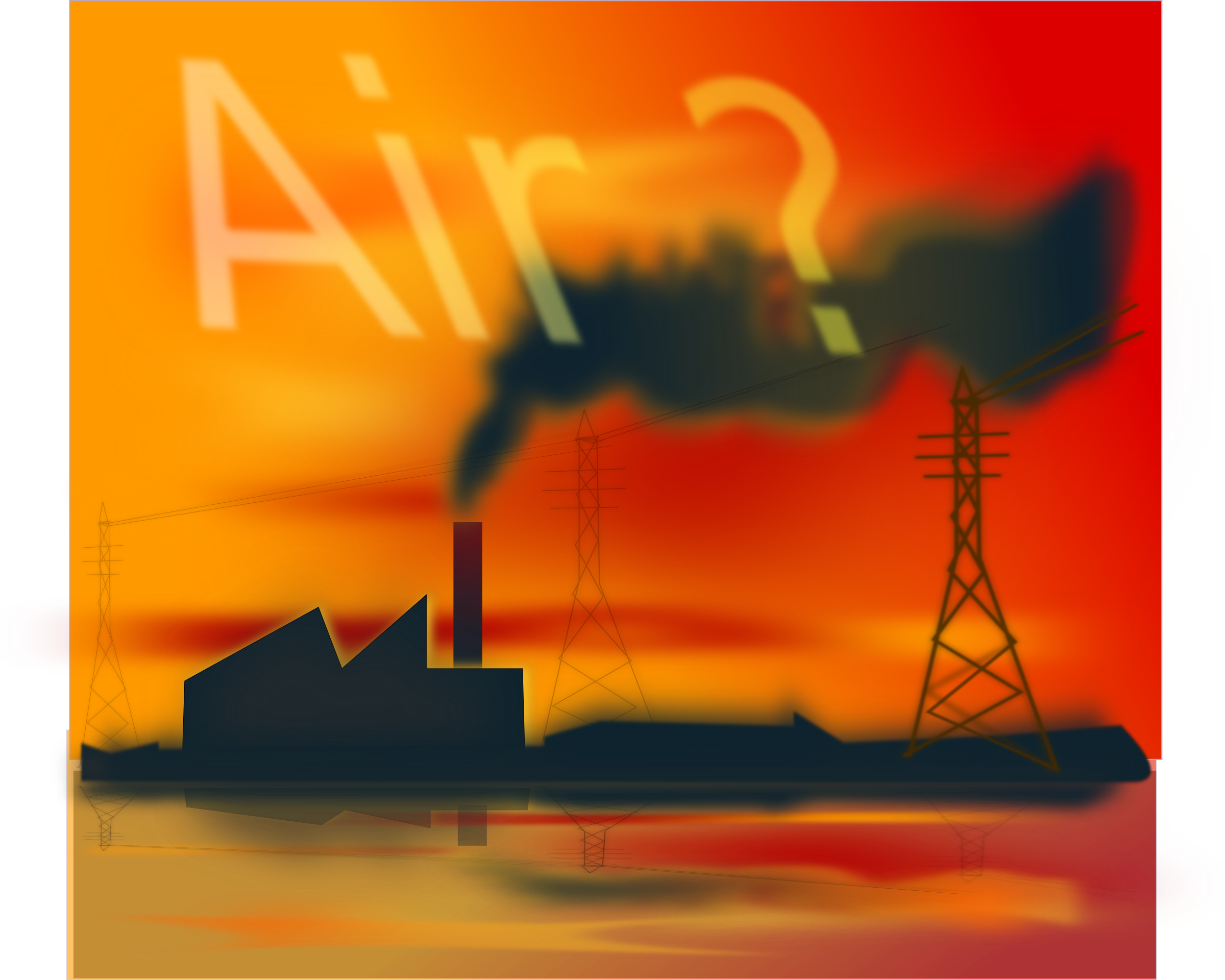 Industrial clipart environment pollution Clipart Pollution Air Pollution Air