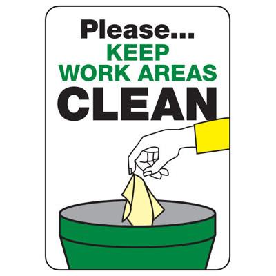 Industrial clipart housekeeping Industrial Housekeeping Please Please Areas