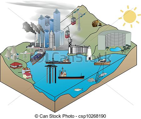 Industrial clipart industrial area In Industrial Concept Area development