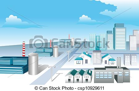 Industrial clipart industrial area Area clipart Clipart area industrial