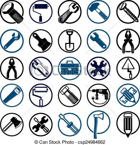 Industrial clipart industrial art Art icons Clip tools Stylized