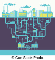 Industrial clipart industrial building Industrial  Industries Stock 363