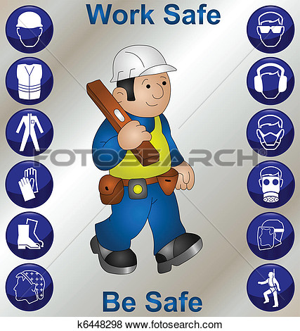 Barrier clipart industrial safety Plant Industrial Safety Clipart Free