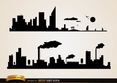 Industrial clipart industry Industries cities Industrial Clip 46
