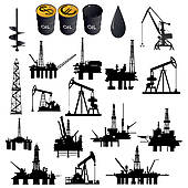 Industrial clipart oil company GoGraph jack Rig Royalty Oil