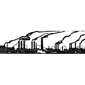 Industrial clipart smokestack Eps industry industry clipart industry