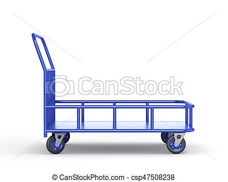 Trolley clipart industrial Illustration trolley cart Illustration Transport