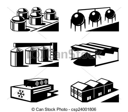 Industrial clipart warehouse Csp24001806 industrial Clipart and vector