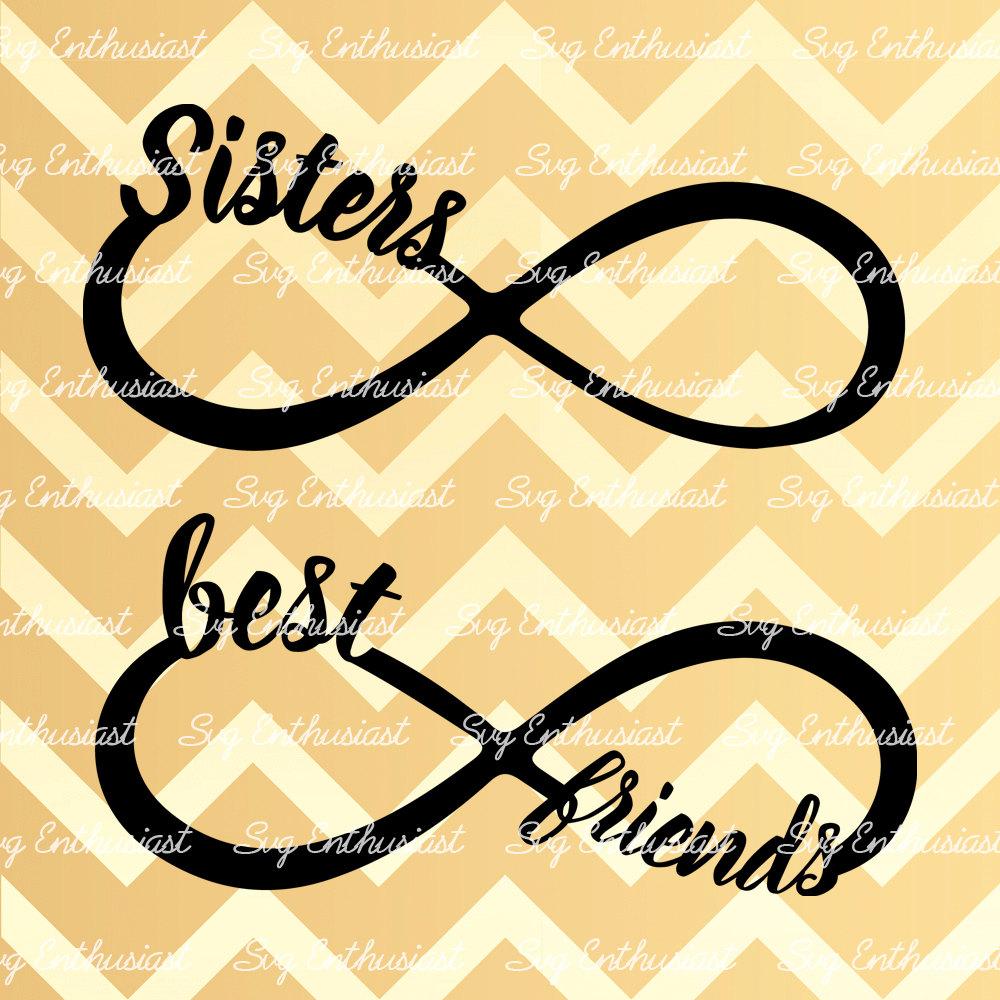 Infinity clipart best friend Friendship Svg friends SVG Infinity
