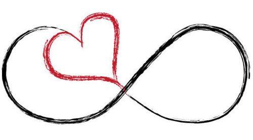 Infinity clipart best friend  bestfriend/friendship Infinity heart with