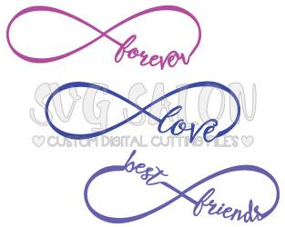 Infinity clipart best friend Friend My in SVG Best