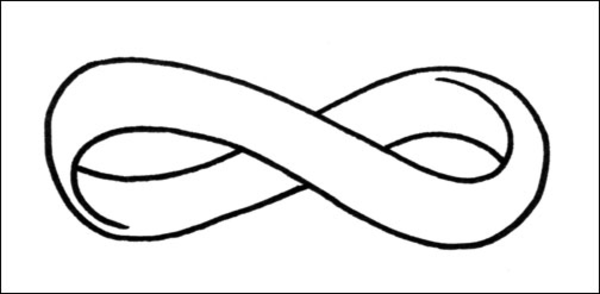 Infinity clipart black and white White Symbol Infinity Black symbol