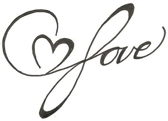 Drawn heart easy Download Love Tattoo Art