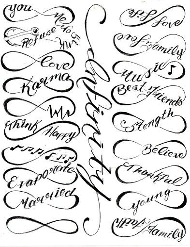 Infinity clipart drawing On 25+ tattoos! Best ideas