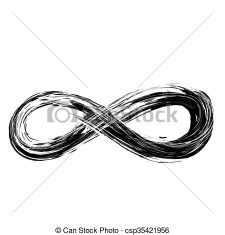 Infinity clipart drawing Draw Clipart hand vector infinity
